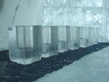 Ice Hotel N'ICE Club ice shot glass