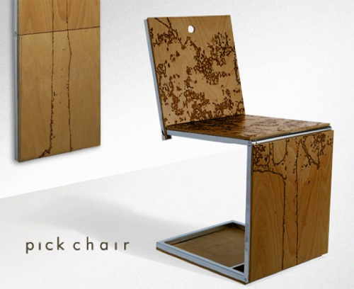 Pick Chair by Dror Benshetrit