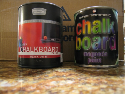 Chalkboard paints