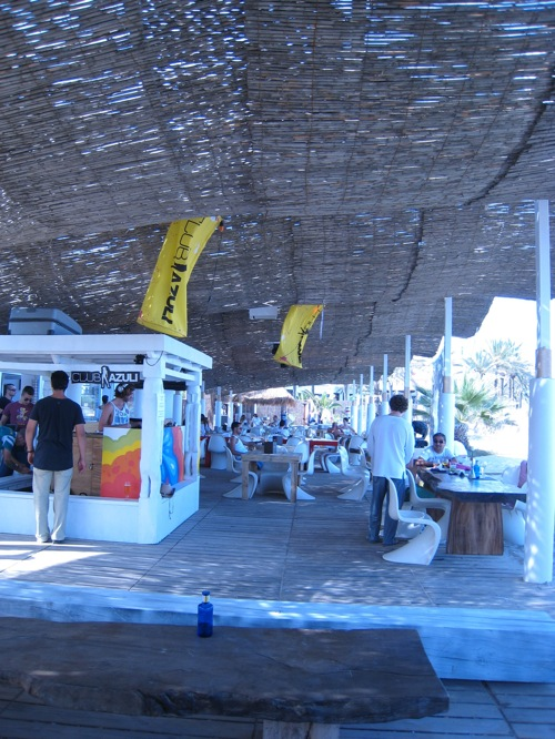 Club Azuli Party Ibiza beach terrace