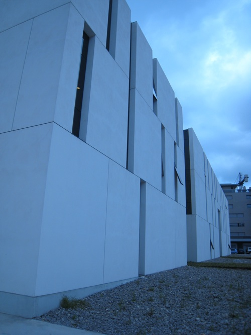 Modern architecture hospital Ibiza
