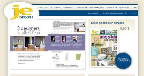 M2JL STUDIO in Magazine Je Decore
