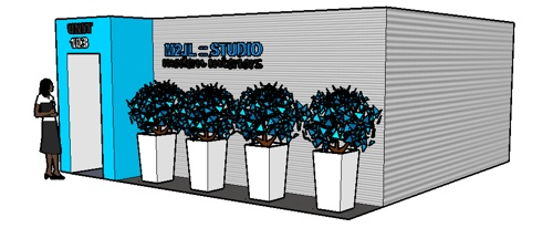 M2JL :: STUDIO trade show booth design