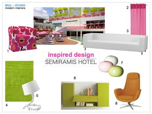 Semirami hotel inspired Mood Board M2JL :: STUDIO