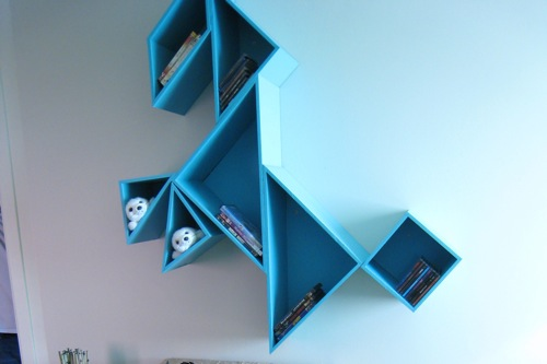 Mechant Changement M2JL STUDIO Tangram Shelving