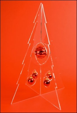 Modern acrylic Christmas tree