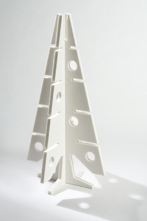 White Modern Christmas tree Pop Tree
