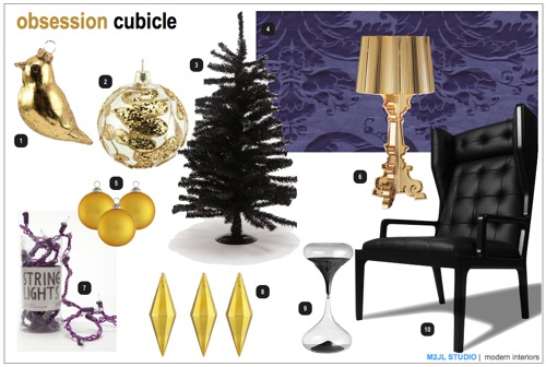 Obsession Christmas Decoration Trends Cubicle Moodboard