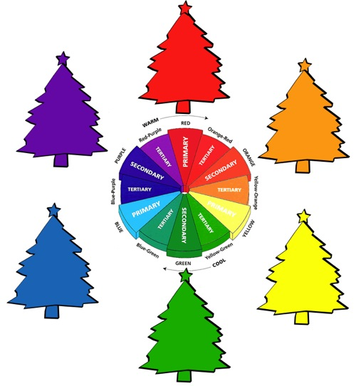 Christmas tree Color Wheel M2JL STUDIO