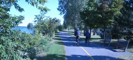 Ottawa cyclist