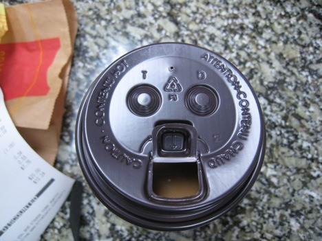 Ottawa McDonald Bank Street coffee Happy face