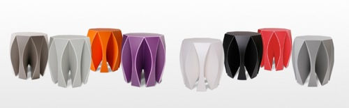 NOOK stool by Vial designed by Patrick Frey