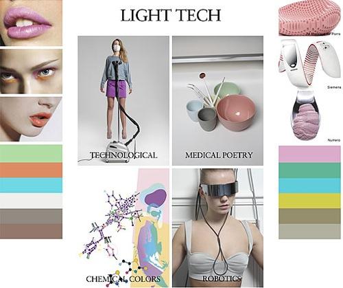 2010 Fashion Trend Light Tech
