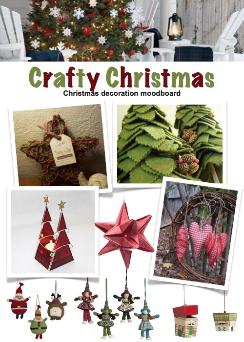 modern christmas decor crafty christmas