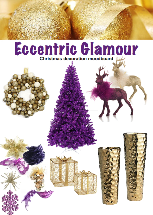 modern christmas decor eccentric glamour
