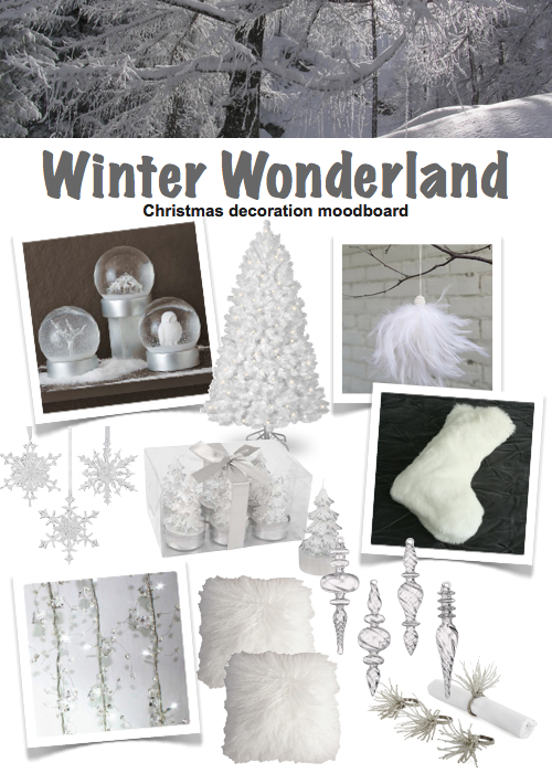 modern christmas decor winter wonderland