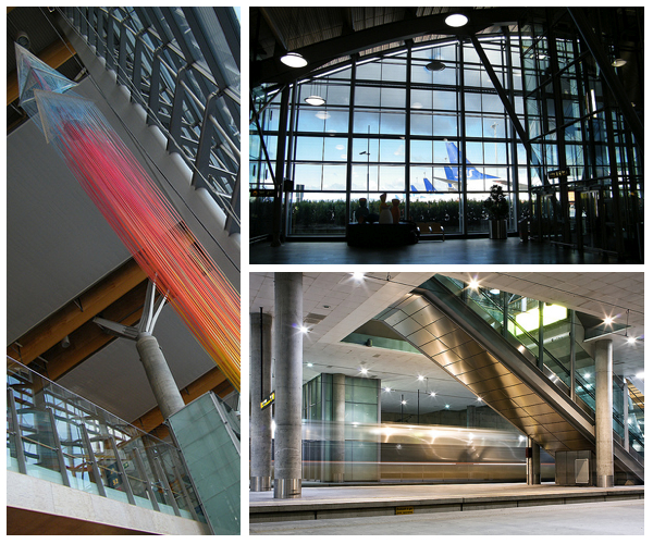 oslo airport norway interior design and architecture