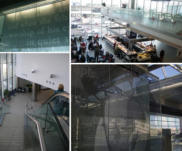 Dublin Airport design modern architecture