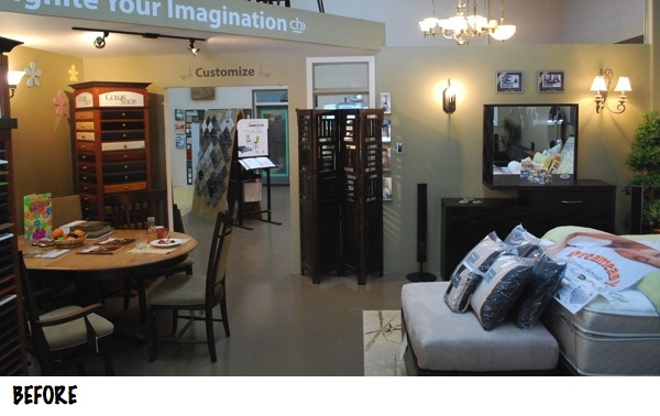 custom home interiors showroom