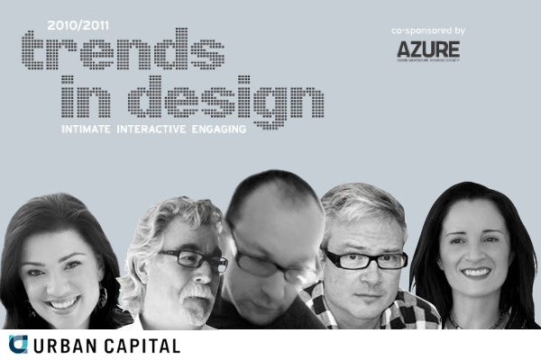 Urban Capital trends in design lectures ottawa