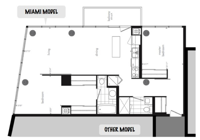 Central Condominiums Modern Ottawa Miami model