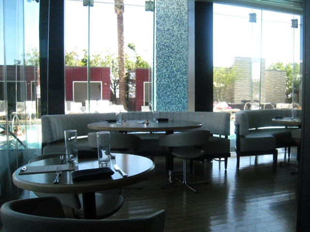 Palms Place Boutique Hotel Las Vegas  Studio Celebrity Chef Kerry Simon Simon Lounge M2JL STUDIO
