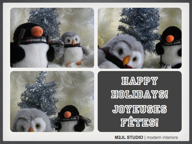 Happy Holidays Merry Christmas Happy Hanukkah Happy Kwanza M2JL STUDIO Best Wishes