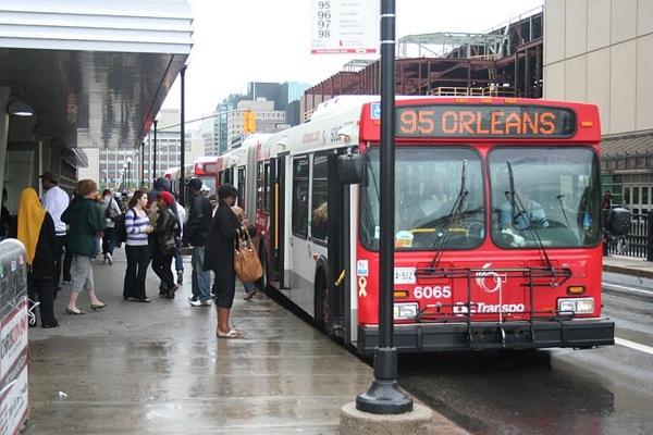 OC transpo bus Ottawa 95 Orleans