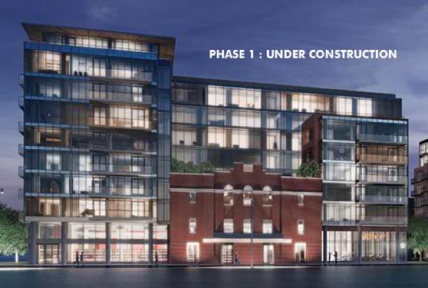 Central Condo Urban Capital facade attached Modern Ottawa