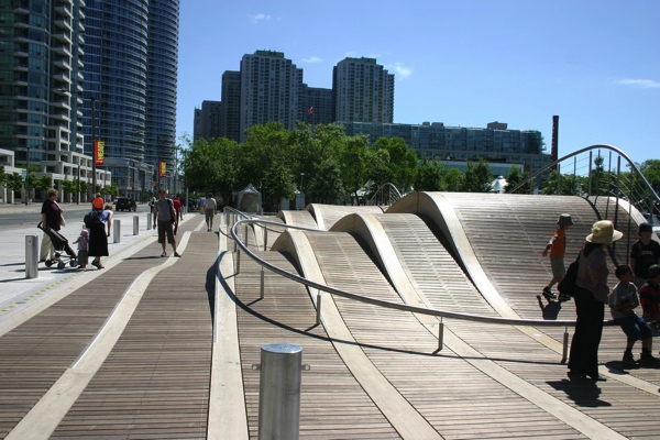 trend in design night central modern Ottawa Lansdowne park Rob Clairborne Cannon Design Wave deck Toronto