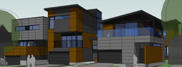 Turn key modern eco friendly house Ottawa Hidden City Design