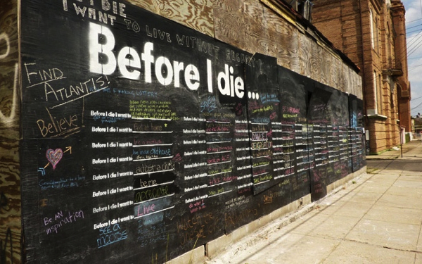 Cindy Chang project Before I die Why not in Ottawa Modern Ottawa MOOT