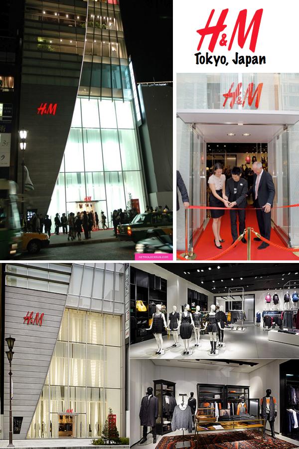 H&M store Tokyo Japan