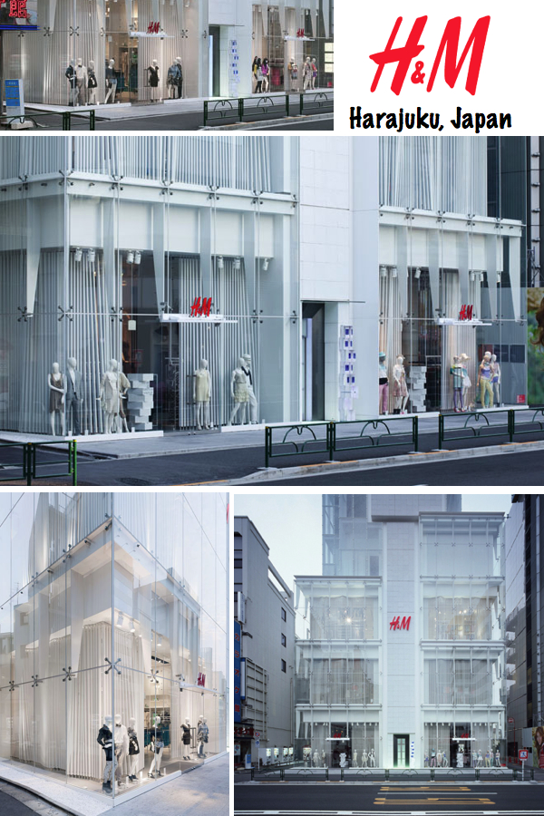H&M store Harajuku Japan