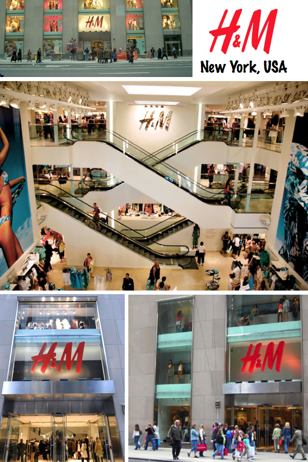 H&M store New York USA