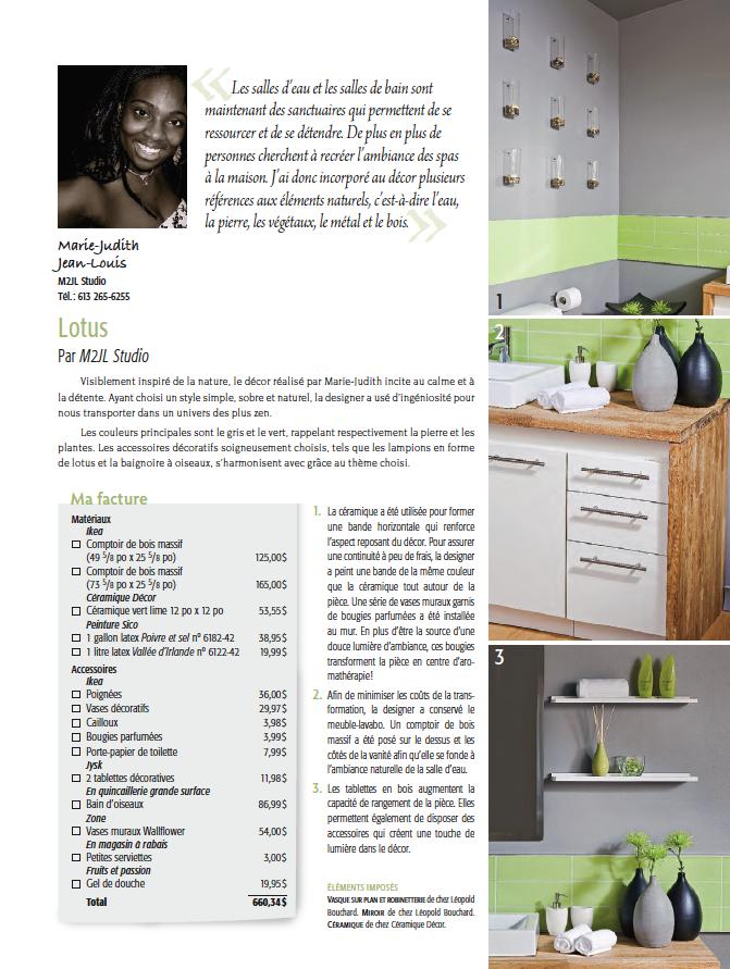 je décore magazine | M2JL Studio