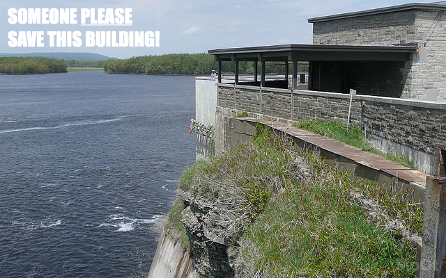 Modern Ottawa blog versus NCC bid for the Canada and the World proposal for abandoned building