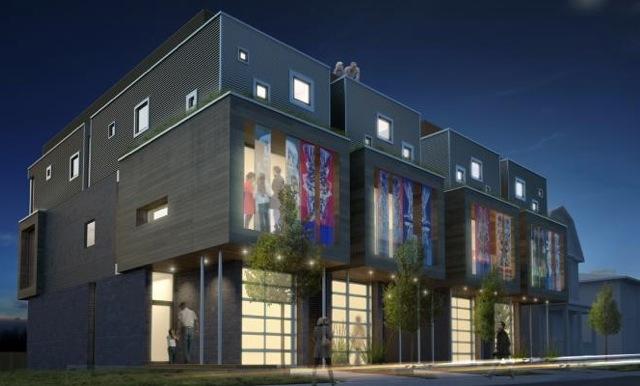 MoOt | Modern Ottawa - Modern Semi detached luxury home Ottawa South Canvas Surface Development Christopher Griffin concrete art