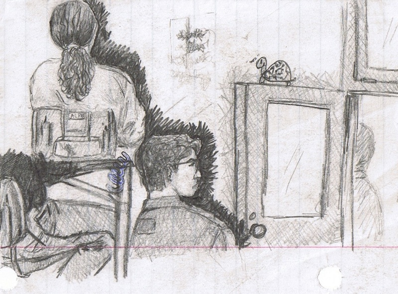urban sketch classroom