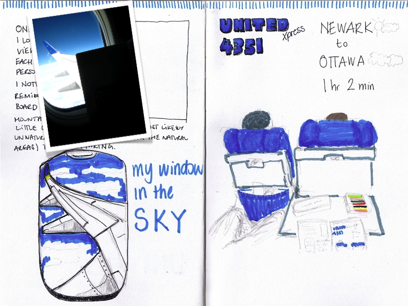MJ SKETCHBOOK | Urban Sketch | Airport