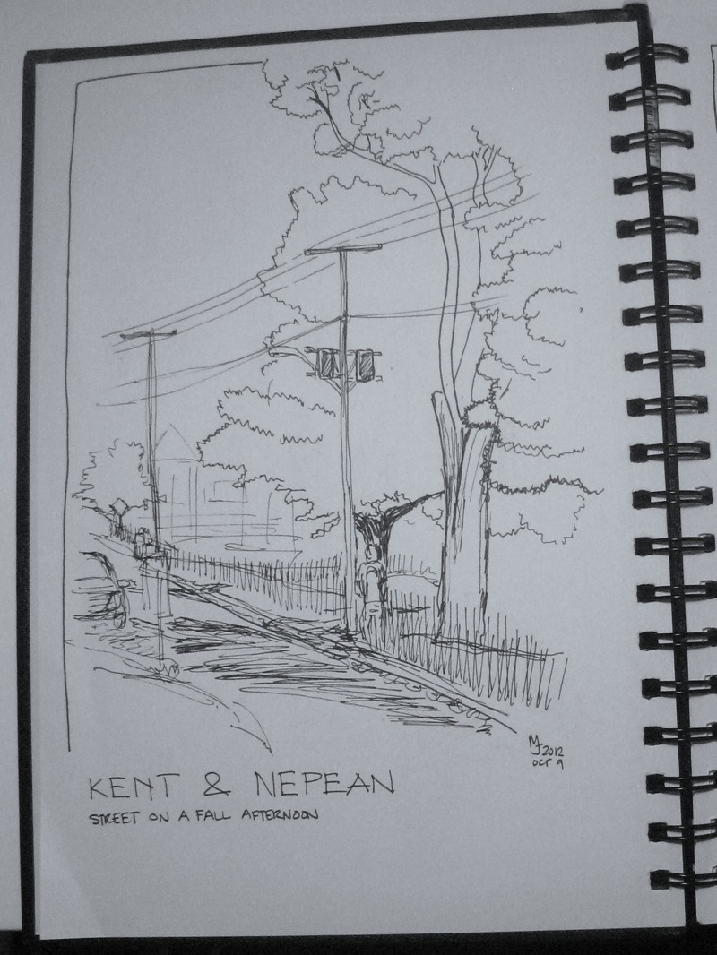 MJ SKETCHBOOK | Urban Sketcher - Ottawa
