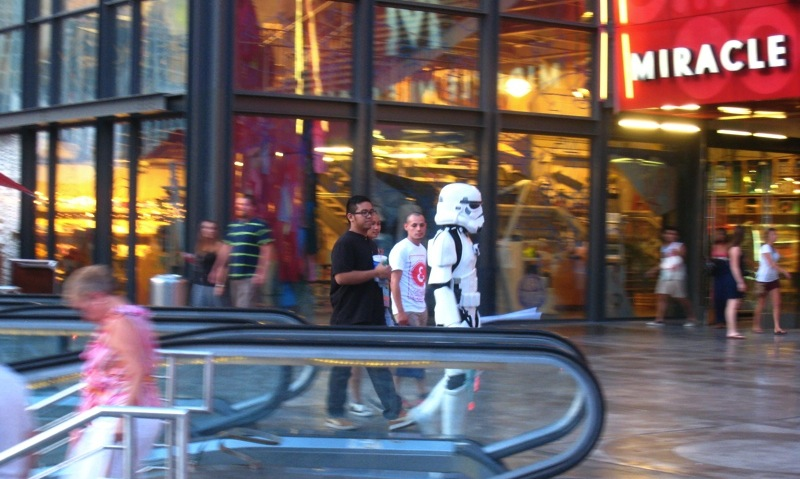MJ SKETCHBOOK | Las Vegas Storm Trooper Miracle Mile Shop