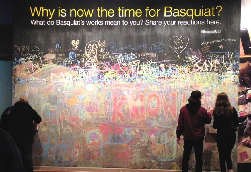 Basquiat at the AGO