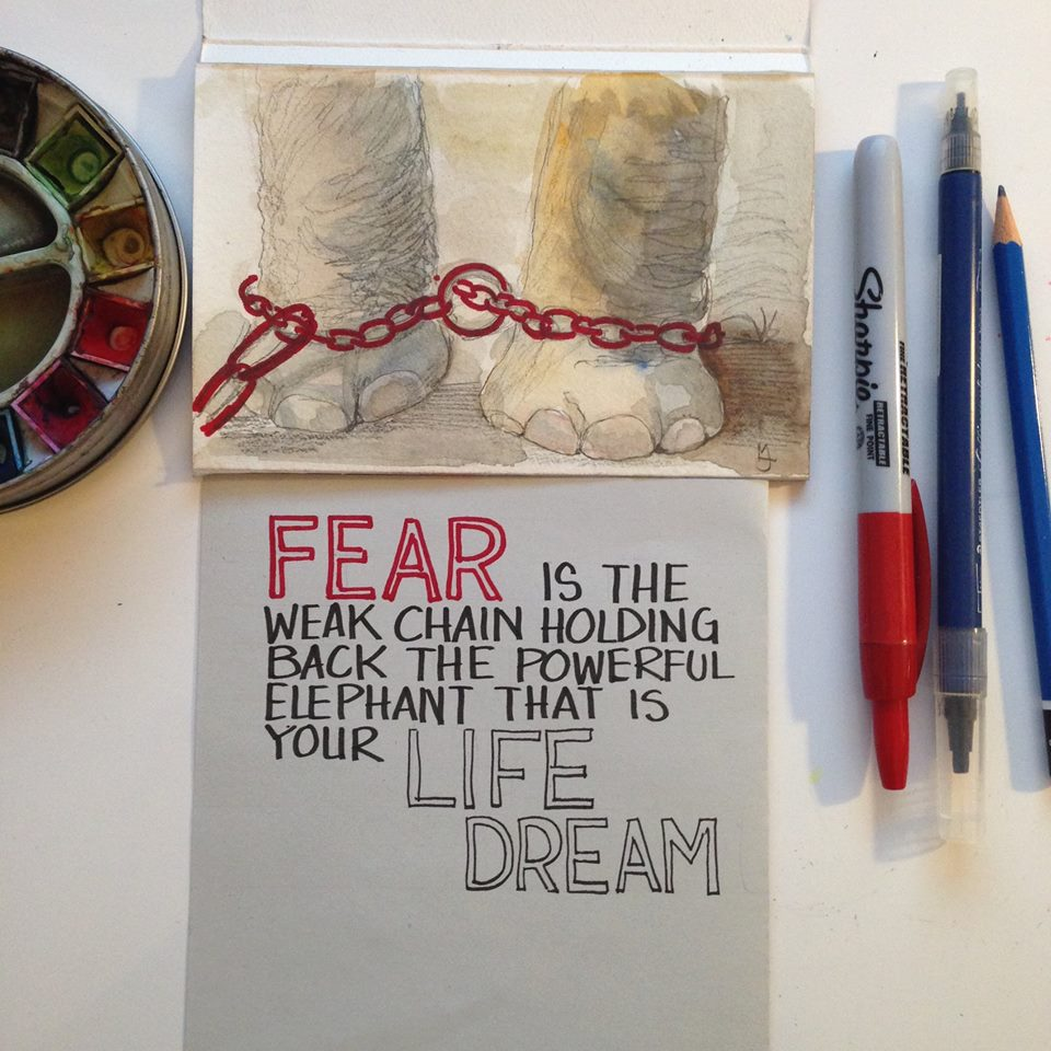 Fear quote by MJ