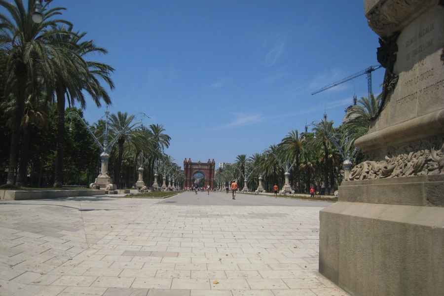 Bacelona Arc of Triomf