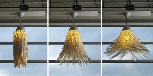 Unique Modern Sleek Ceiling Fan Minimalist Dervish Lamp By Philippe Malouin